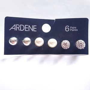 🎈2 for $10🎈 Ardene 3 NWT Studs Earring Pairs